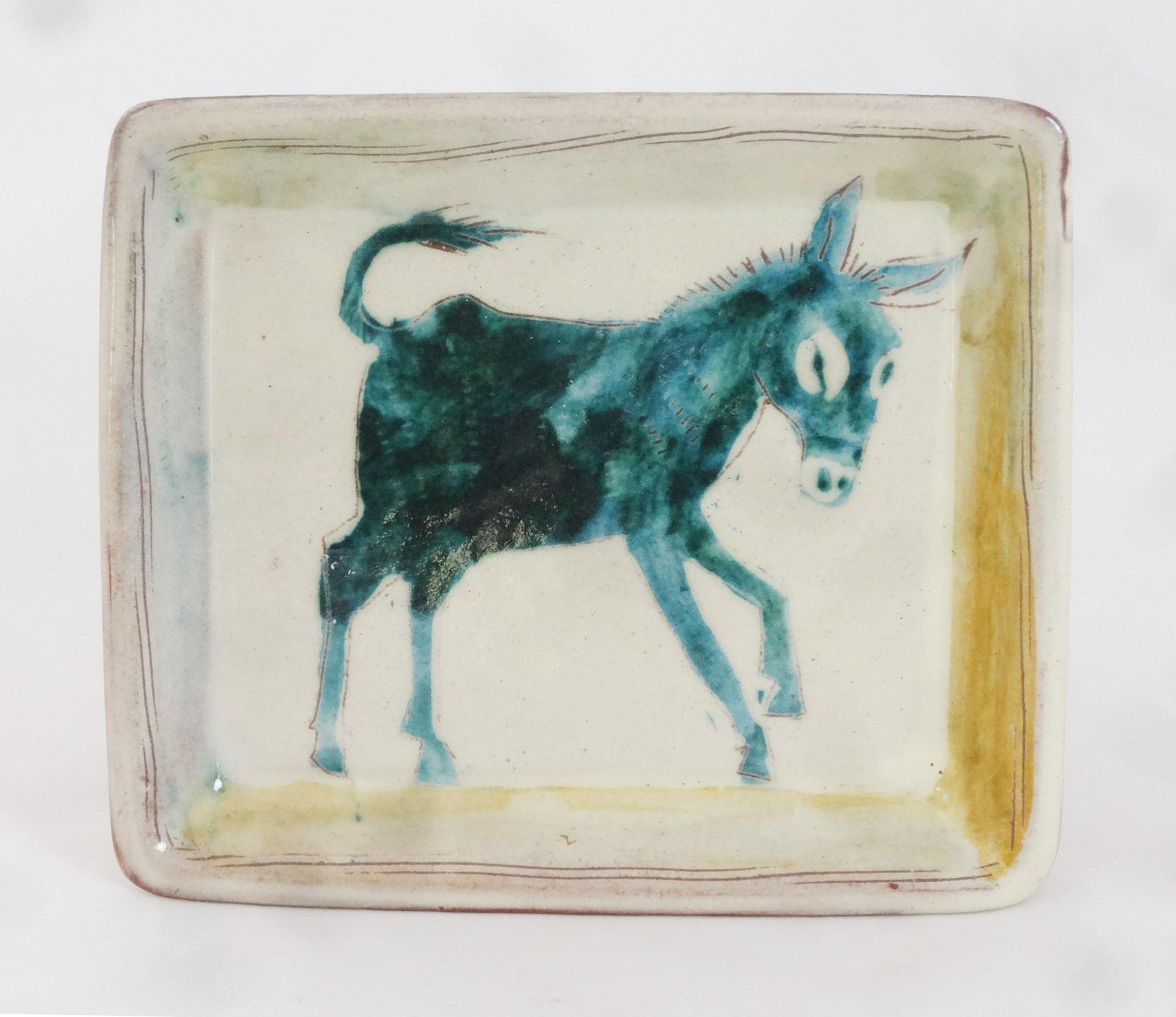 Tablett Esel