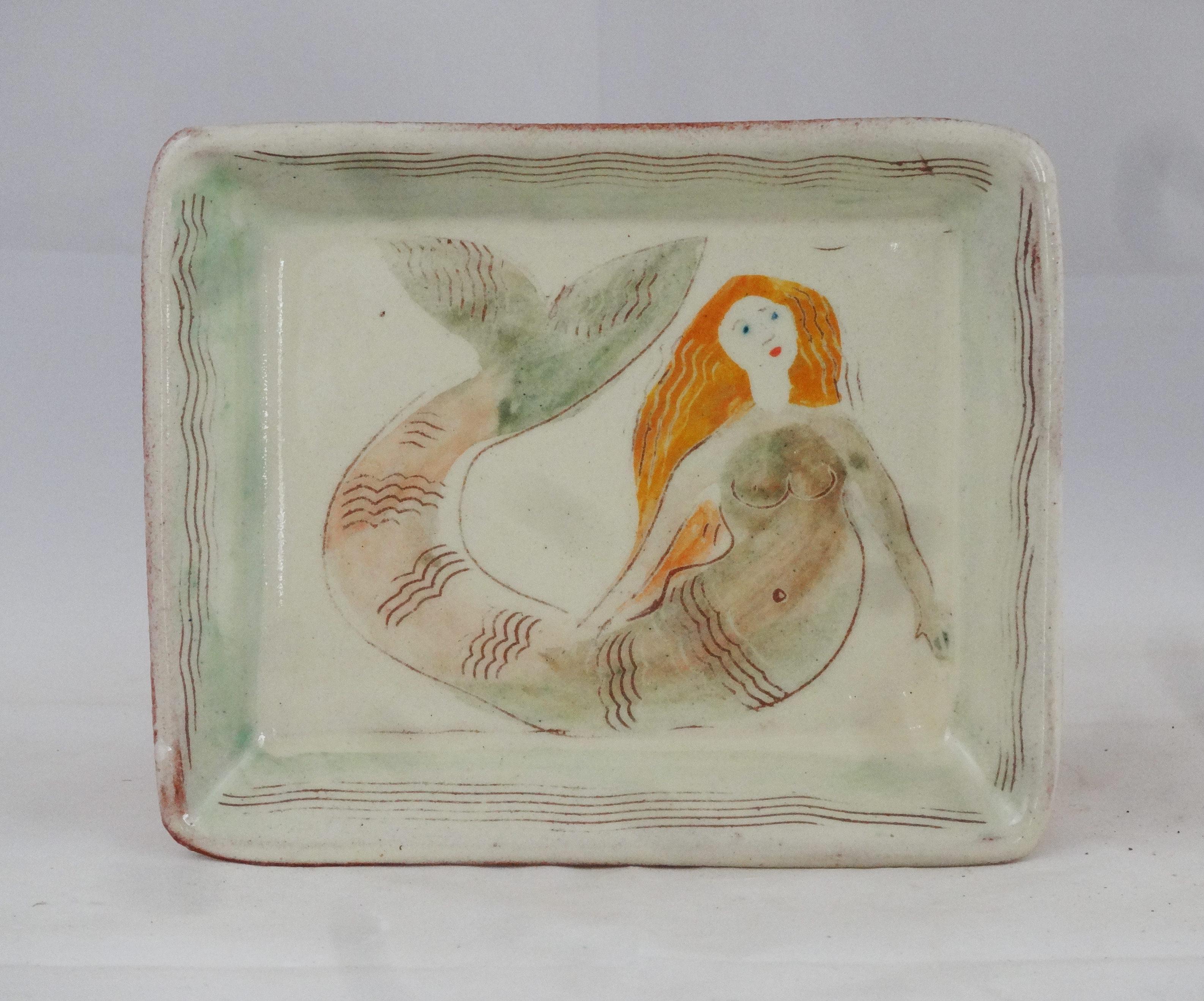 Tablett Meerjungfrau
