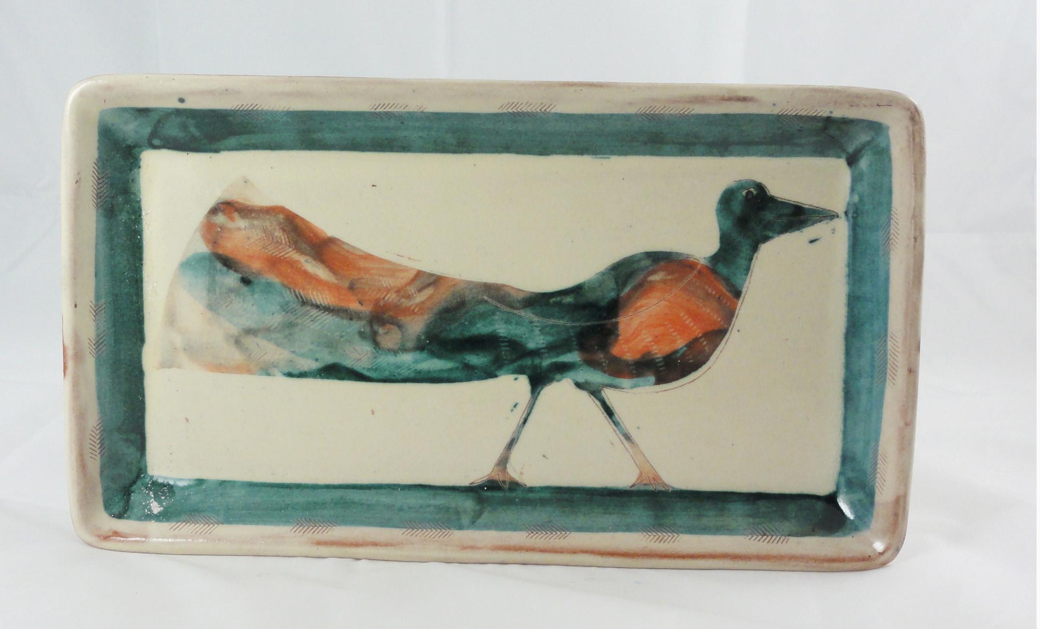 Tablett-mit-Vogel-türkis-rot