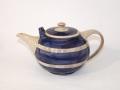 Teekanne-blau-Streifen