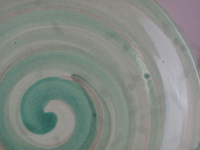 Spirale mint,grüngrau