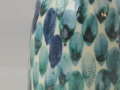 Pinseldruck blau-Türkis
