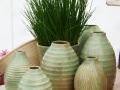 Hahn Vasen seladonfarben Kopie