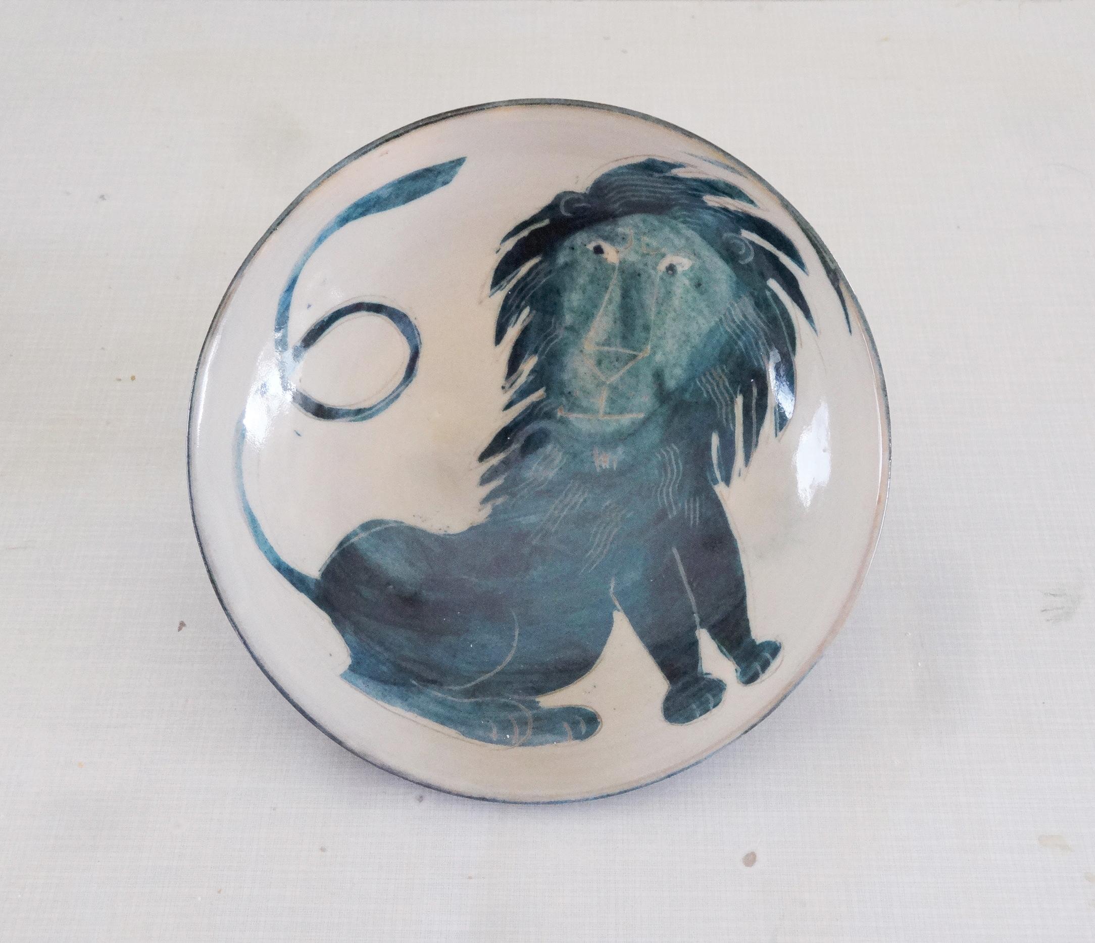 Löwenschale 26 cm Kop wen Kopie
