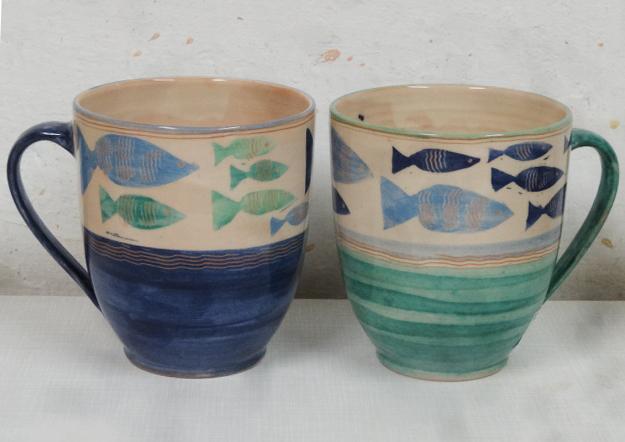 Jumbotassen-Blautöne-07l, Fischband