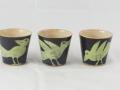Becher S,  m. grünen Vögeln, 0,15 l