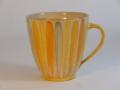 Jumbotasse,06l, langes-Blatt-orange