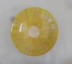 Tiefer Teller limone-zitrone gekämmt, 21 u. 23,5 cm