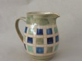 Krug m. Kastl-Motiv, blau